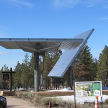 NPS visitor center solar